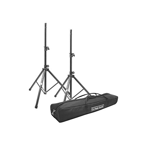On Stage SSP7950 Tripod Speaker Stand Package with (Stage Tripod)