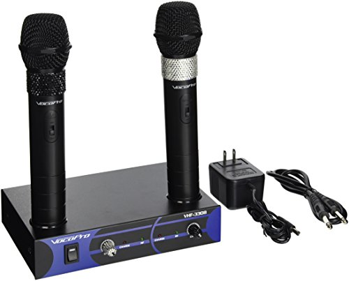 VocoPro VHF 3308 Wireless Microphone System