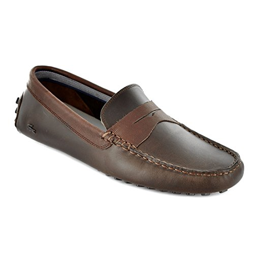 Lacoste Concours 9 Fashion Loafers - Brown (Mens)