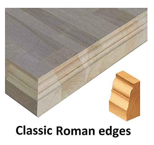 Allwood 1.5 x 30 x 48 Birch Table Counter Island Top See All Edge Options Routed Edges 1 face