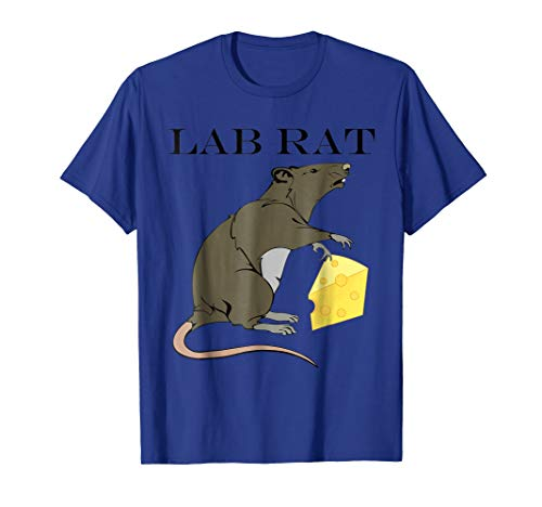 Funny Lab Rat Halloween Costume T-shirt