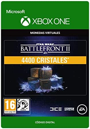 STAR WARS BATTLEFRONT II 4400 CRYSTALS - Xbox One - Código de ...