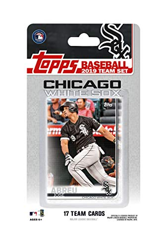 Chicago White Sox 2019 Topps Factory Sealed Special Edition 17 Card Team Set with Yoan Moncada and Jose Abreu Plus