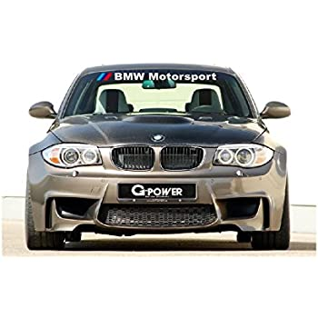 bmw motorsport windshield sticker decal. Black Bedroom Furniture Sets. Home Design Ideas
