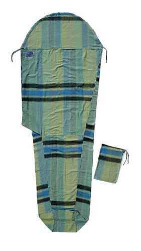 Cocoon Flannel MummyLiner (Afr Rainbow, 95-Inch x 35/22-Inch) by Cocoon