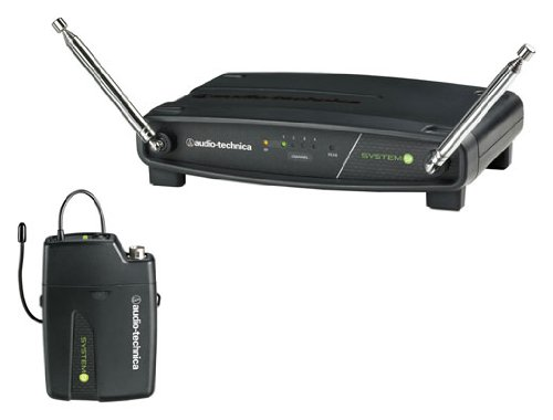 Audio-Technica ATW-901 System 9 VHF Wireless Unipak System 169.505 to 171.905 MHz