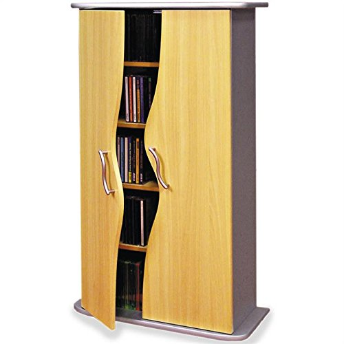 IDIMEX Armoire range CD/DVD WAVE: Amazon.fr: Cuisine & Maison