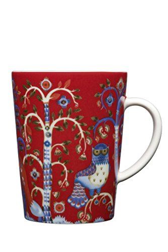 - (Set of 4) IITTALA TAIKA MUG RED (SEASONAL ITEM) 13.5 oz