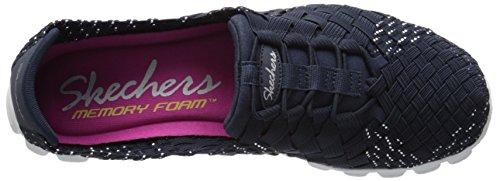 888222896898 - Skechers Sport Women's EZ Flex 2 Tada Fashion Sneaker, Navy/Silver, 10 M US carousel main 7