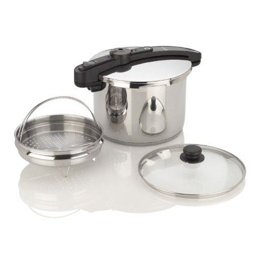 Chef Pressure Cooker Size: 6 Quart