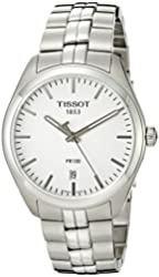 Tissot Men's T1014101103100 Analog Display Quartz Silver Watch