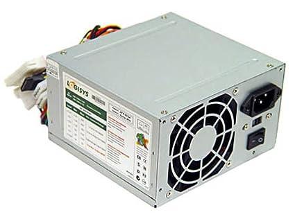 Amazon.com: Logisys 480W 20+4-pin ATX Power Supply: Computers ...