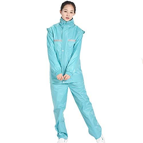 Split Adulte Geyao Color L De impermable et Impermable Taille Moto Femelle Blue Pantalon Split impermable Costume Male quitation Pluie lectrique Ensemble Red l'eau rxwxUqpE