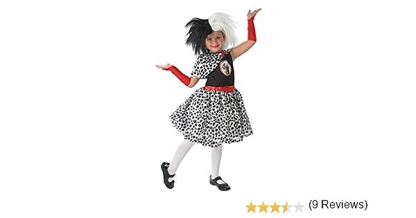 Rubies Disfraz oficial de Disney Cruella de Ville, 101 dálmatas ...
