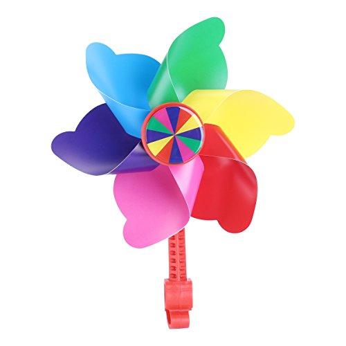WINOMO Children Bike Handlebar Flower Pinwheel Windmill Decoration for Kid's Scooter