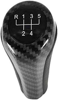 Semoic Voiture BMW 6 Vitesses Levier de Changement de Vitesse de Handball Adapt/é /à BMW 1 3 5 6 S/éries E90 E91 E92 X1