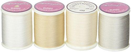 - Superior Threads STCNL Masterpiece Neutrals Lights 4 Spools Thread Set