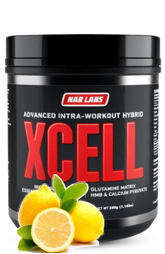 NAR LABS XCELL 500g Intra-Workout Formula (Lemon Lime)