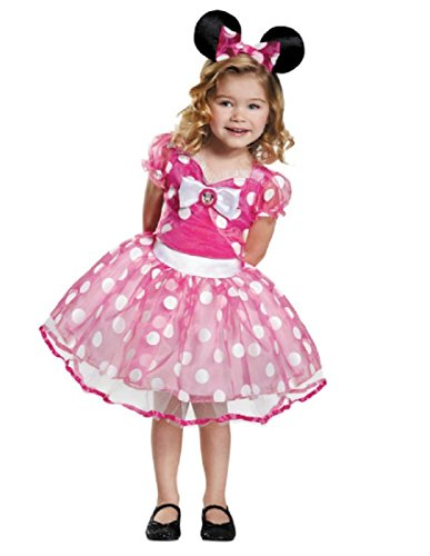 Pink Minnie Tutu Deluxe Costume, Medium