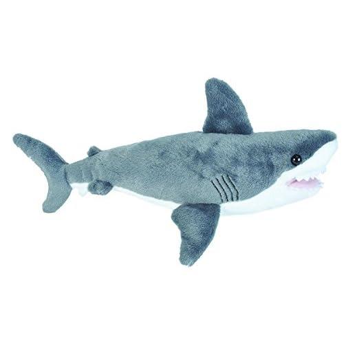 Wild Republic Peluche Cuddlekins Requin Blanc