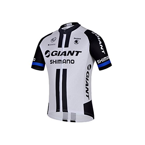 - UONO Mens Short Sleeves Team Cycling Jersey Jacket Bicycle Bike Shirt
