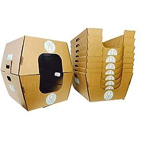 Cats Desire Disposable Litter Boxes Disposable Litter Boxes, 10 Piece 48