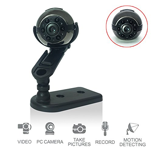 Surveillance Dvr Board (econoLED Mini Camera SQ9 Mini DV Camera 1080P Full HD Car DVR Recorder Motion Wireless Aluminum Video Camera)