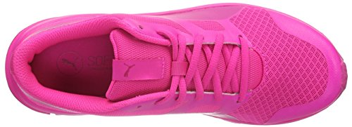 de Pink Flexracer 09 Entrainement Puma pink Glo Fuchsia Mixte Chaussures Running Purple Adulte fp7c01EqW