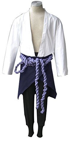 Mtxc Men's Naruto Cosplay Costume Uchiha Sasuke 3rd Size ...