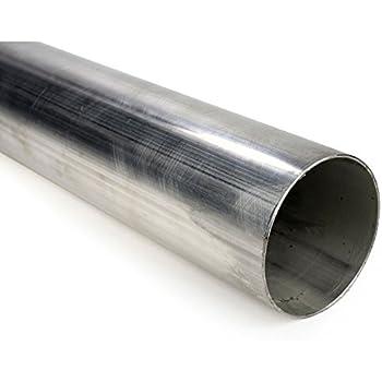 """2 x 6/"""" Long Aluminised TUBE 45mm Mild Steel Exhaust Tube Pipe 1 3//4/"""" 1.75/"""""""
