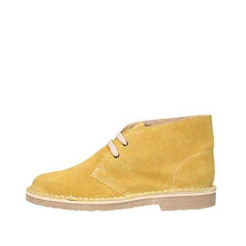 KTL by CORAF desert boots mujer gamuza amarillo