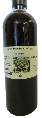 Natural Vanilla Extract - Organic Certified 32 oz by OliveNation