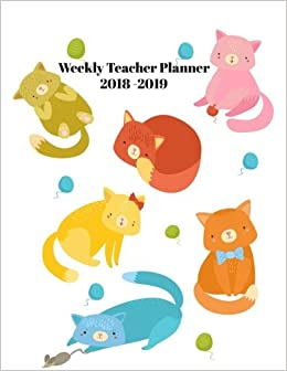 weekly teacher planner 2018 2019 weekly planning sheets for