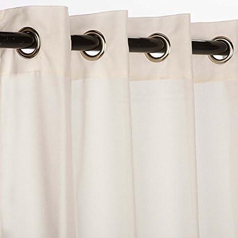 Amazon.com : Sunbrella Outdoor Canvas Curtain with Grommets ...