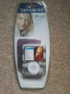 Samsonite Ipod Nano 3G Durable Flexible Soft Silicone Form-fit Skin Covers