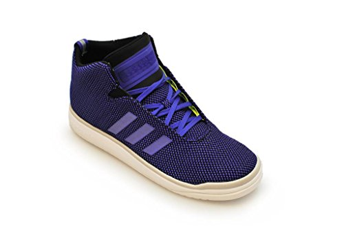 Adidas Hommes - Veritas Mid - Violet Volt Blanc - B24561