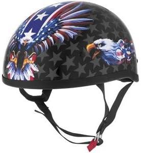 Skid Lid USA Flame Eagle Helmet X-Large//Eagle