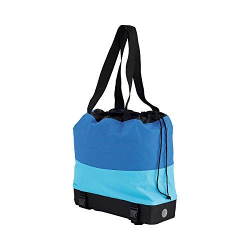 EASYmaxx Bolso de bicicleta impermeable 2 en 1 - Carrier y bolso de compras en uno (bicicleta y bolso de compras)