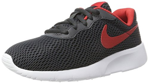 c66f7afe670e Nike Kids Tanjun SE (GS) Anthracite University Red Running Shoe 5.5 Kids US