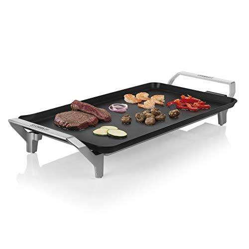 Princess Table Chef Premium 103110 Plancha grande XL, de gran potencia, 46 x 26 cm