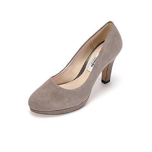 Clarks Crisp Kendra - Zapatos de Vestir mujer Beige (Taupe Suede)