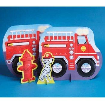 Firefighter Centerpiece-13 (Firefighter Centerpieces)