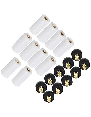 Accessoires CUTICATE Paquet De 10 Embouts /à Visser pour Queues De Billard pour Outil De R/éparation De Snooker Pi/èces De Billard Accessoires