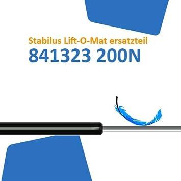 Ersatz f/ür Stabilus Lift-O-Mat 841323 0200N