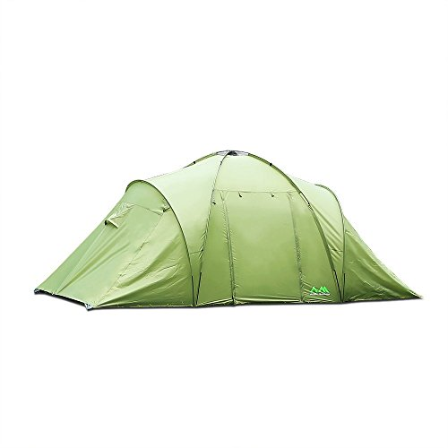 Arctic Monsoon Zelt, 4-6 Personen Tunnelzelte Familie Campingzelt mit 2000mm Wassersäule