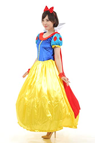 Re Symphony Snow White Costume for Women Adult Classic Princess Halloween Glove Sets