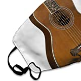 Face Mask Acoustic Guitar Marvellous Cycling Half
