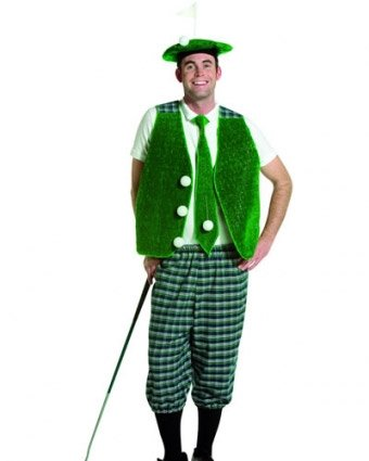 Golfer Costume. Costume Fancy Dress Clothing.  sc 1 st  Amazon UK : funny golf costume ideas  - Germanpascual.Com
