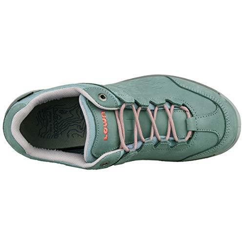 Ws Locarno Ice Blue Nubuck Zapatos Lo Lowa Mujer Mandarin Gtx I1qBHw