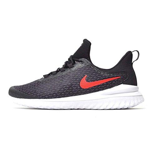 de8645f476455 Nike Mens Renew Rival Black University RED Grey Size 7.5